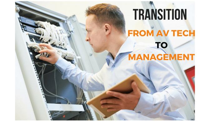 AV Technician To Management