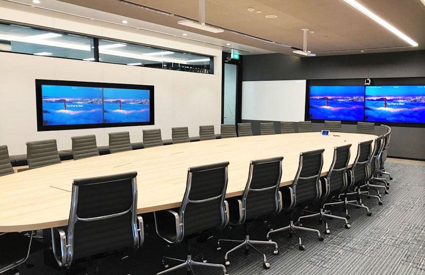 Conference room, videoconferencing, AV