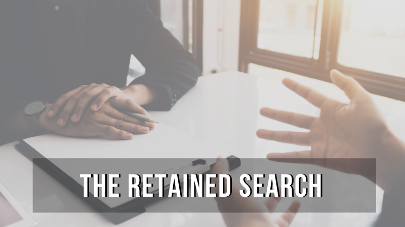 The Retained Search