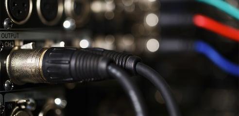 XLR cable, wiring, AV